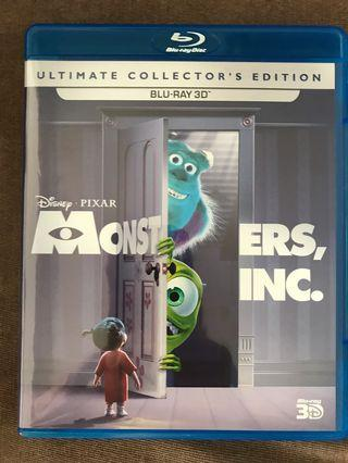 Monsters Inc - Blu-ray 3D Limited Edition
