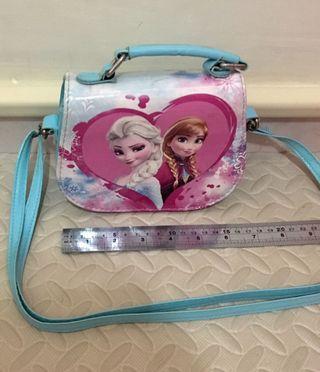 2手 Frozen Bag Elsa Ella 袋 小朋友