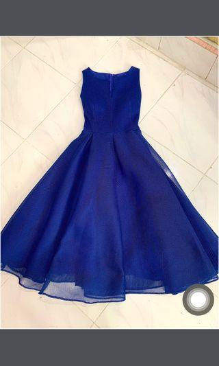 Princess Blue Dress