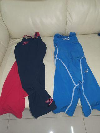 Speedo Arena 游泳 賽衣 比賽必備 二手