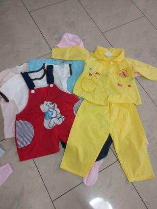 (5 sets)12 - 18 months baby set