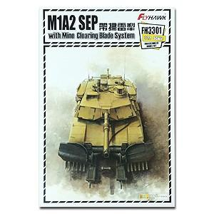 1:72 M1A2 SEP with Mine Clearing Blade System