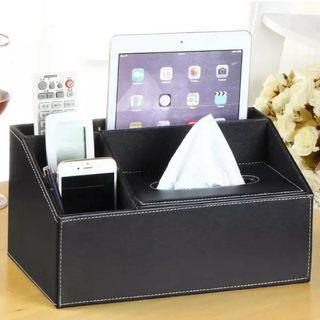 🚚 多功能衛生紙盒客廳茶几抽紙遙控器收納盒創意簡約可愛家居家用歐式『時尚家居』
