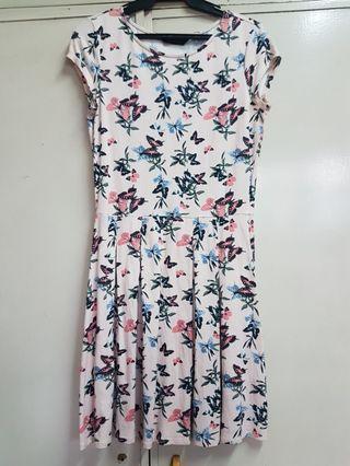Dorothy Perkins Pink Printed Dress
