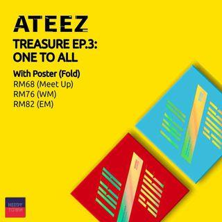 (PRE-ORDER) ATEEZ - TREASURE EP.3 - ONE TO ALL