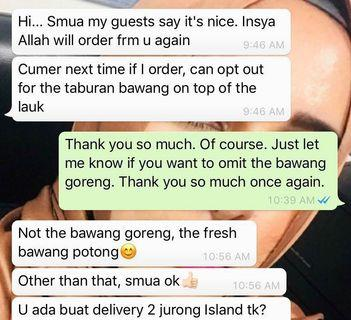 🚚 Customer review part 2