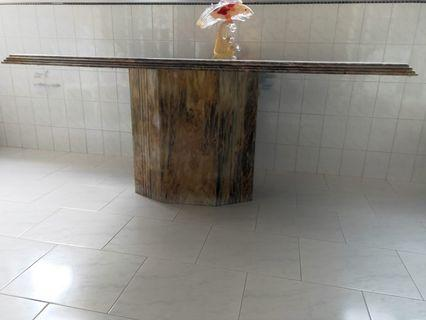 Marble Pattern Dining Table