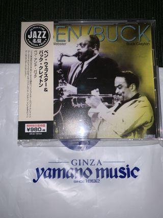 🇯🇵日版jazz Ben Webster cd 山野樂器