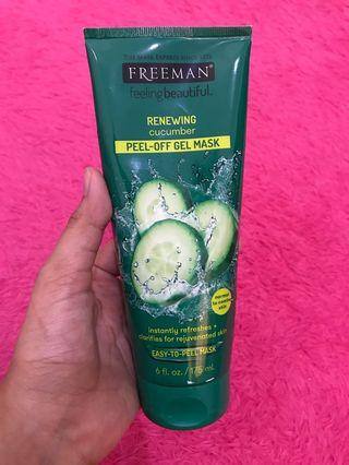 Freeman Cucumber Peel Off Gel Mask