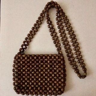 Wood Beads Bag 木珠手袋