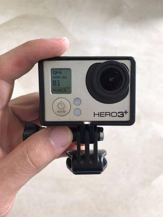 GoPro Hero 3+ Silver RUSH! OPEN FOR NEGO