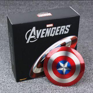 Power Bank Captain America Shield 6800mAH Marvel Cute