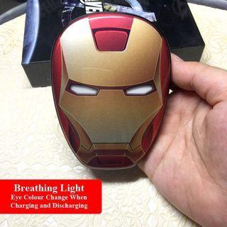 Power Bank Iron Man Avengers 12000mAH Marvel Cute