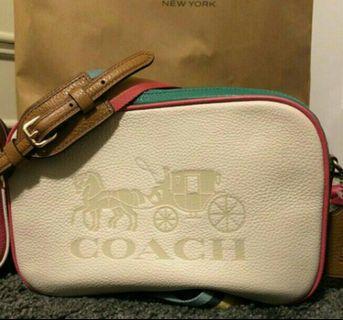 Coach 馬車Logo相機包