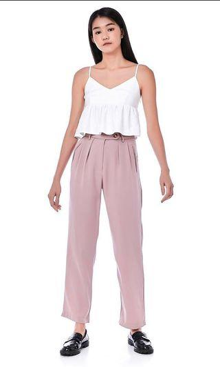 The Editor's Market Darsie Trousers (Dust Pink)