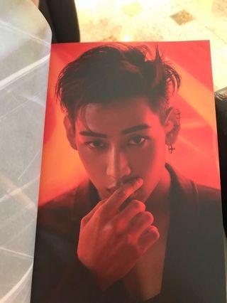 WTT Got7 BamBam Photobook to Jackson photobook