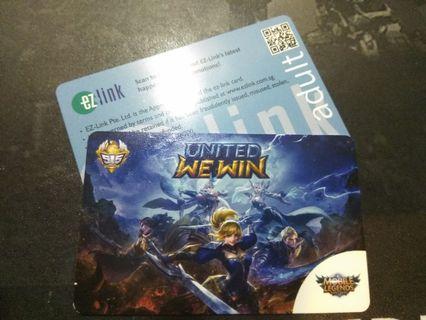 Mobile Legends Ezlink card