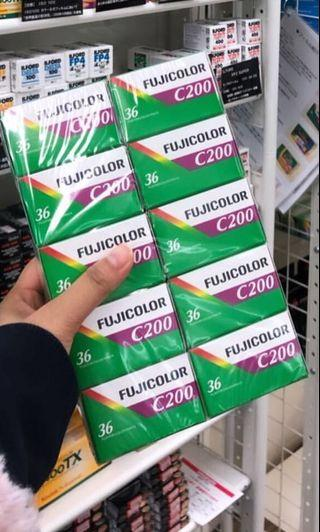 🚚 Fujicolor C200 film rolls