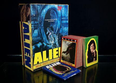 ALIEN Movie Photo Trading Cards (1979, Topps) [106 Complete Set] Vintage Predator