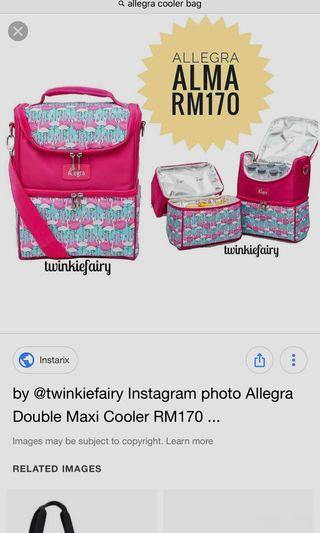 Allegra Double Cooler Bag