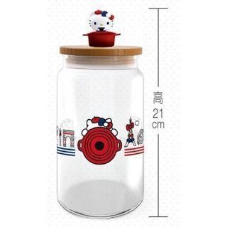 BNIB Le Creuset Hello Kitty Jar