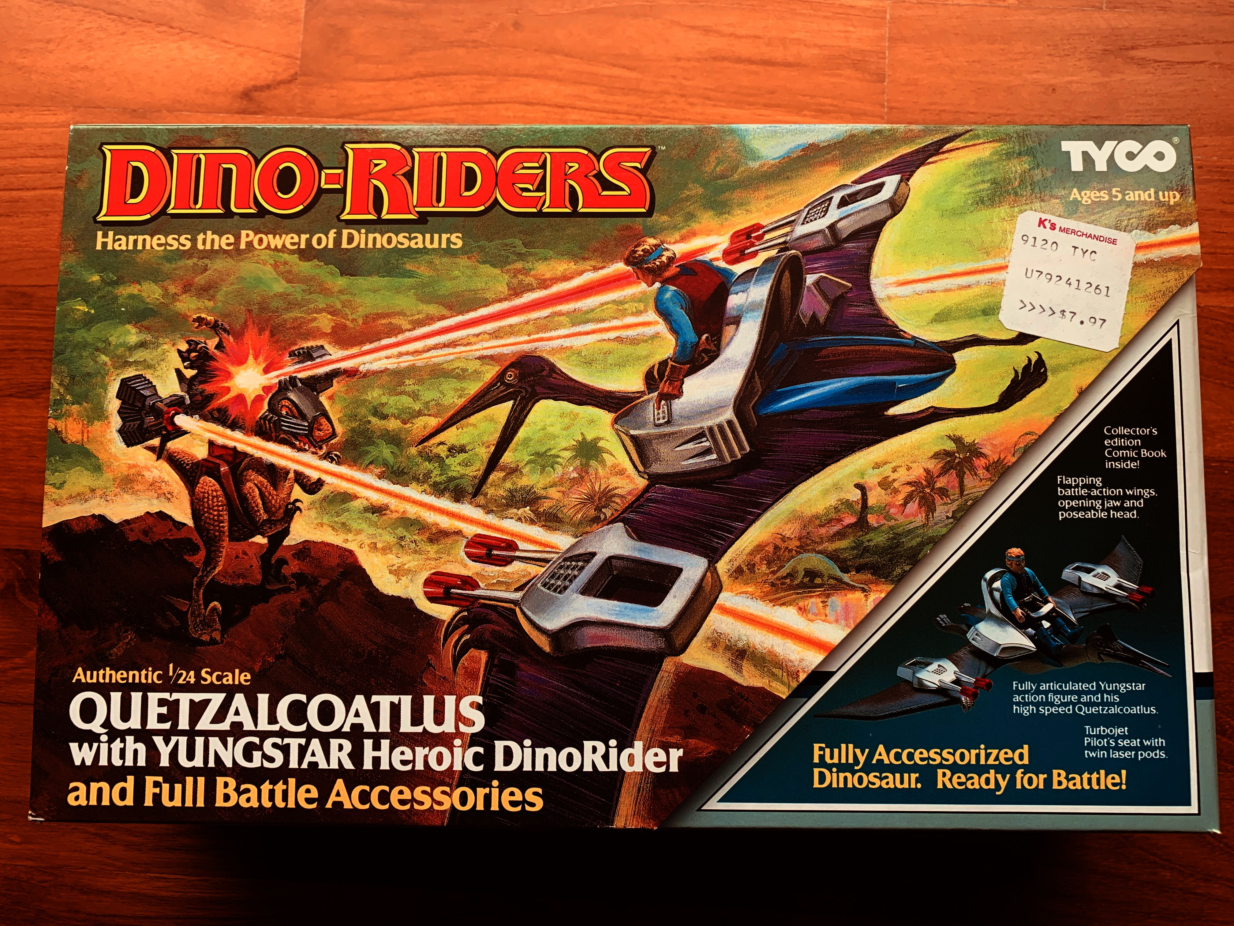 Dino Riders Quetzalcoatlus Pilot Seat and Harness Part 1987 Tyco Excellent