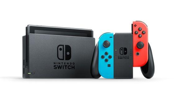 Nintendo Switch Console - Neon Colors