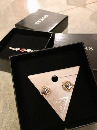 Guess Bracelet and Earrings