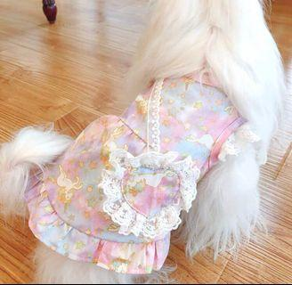 BN It's Summer! Beautiful Pink Enchanting Pets Unicorn Dress - For Dogs Cats Puppy Kittens