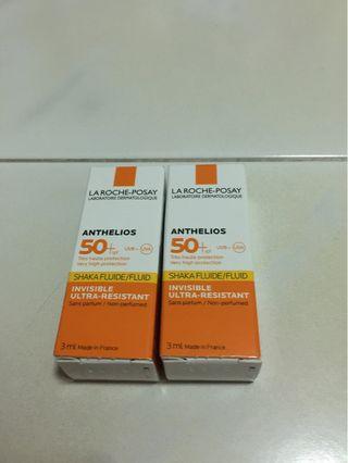 La-Roche Posay Anthelios 50+ SPF Sunscreen (Face) 3ml
