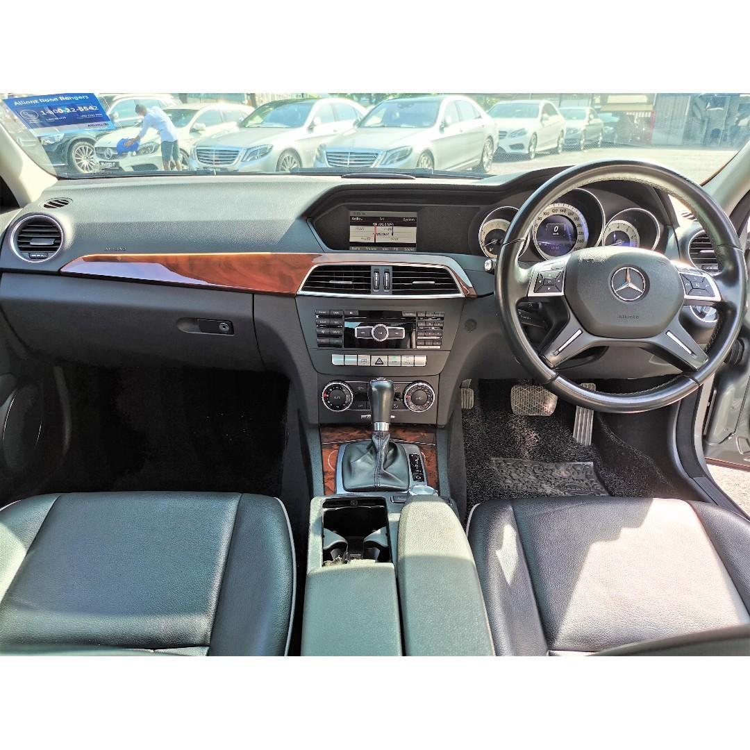 2013 Mercedes-Benz C200 CGI 1.8 Avantgarde Sedan (A)[CKD LOCAL SPEC][1 OWNER][TIP-TOP][PROMOTION] 13