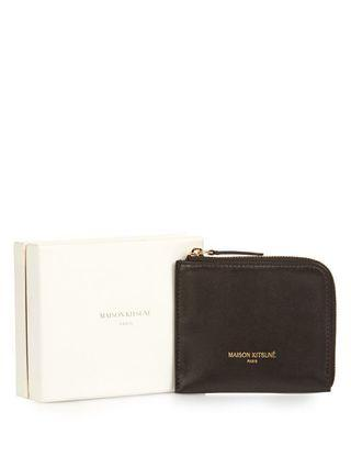 Maison Kitsune Leather Coin Wallet [REDUCED TO CLEAR]