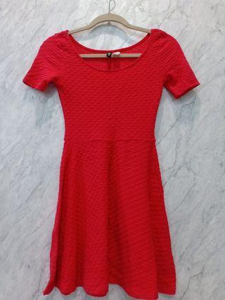 H&M Red Dress (original price RM69.90)