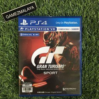 [USED] PS4 GRAN TURISMO SPORT - (GAMEZMALAYA)   PS4 USED GAMES