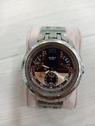 Original Swatch Irony Reverse Retrograde Chronograph