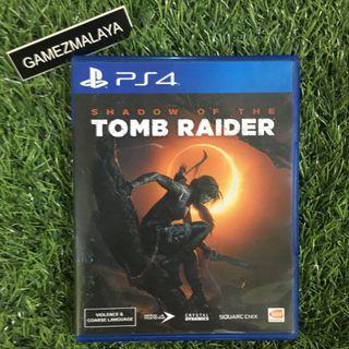 [USED] PS4 SHADOW OF TOMB RAIDER - (GAMEZMALAYA)   PS4 USED GAMES
