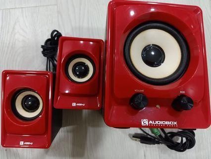 Audiobox speakers