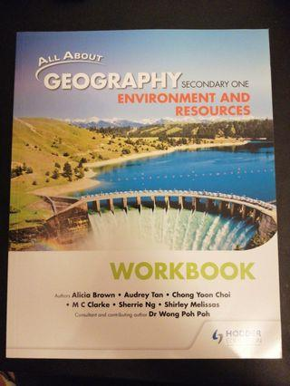 🚚 Sec 1 Geography Workbook: Environment and resources