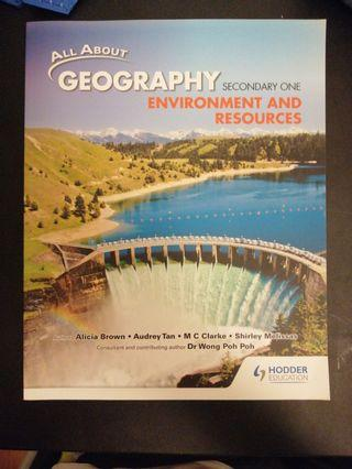 🚚 Sec 1 Geography Textbook: Environment and Resources