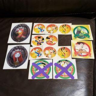 香港迪士尼貼紙 Hong Kong Disneyland Stickers Disney #MTRkt