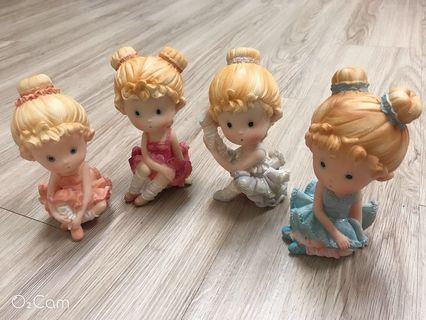 芭蕾舞女孩/陶瓷娃娃