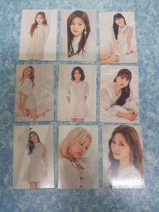 Twicelights Twice trading cards set