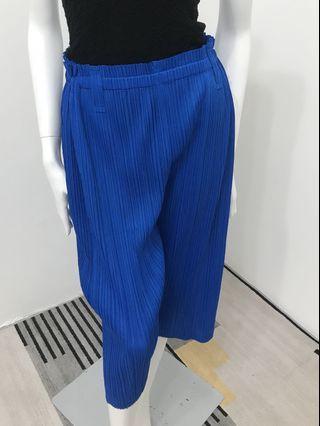 🚚 [代售]三宅一生Issey Miyake藍色長褲