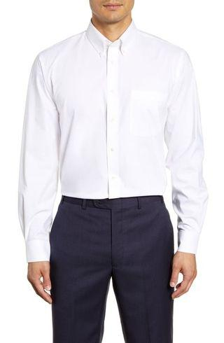 Nordstrom Traditional Fit White Shirt.