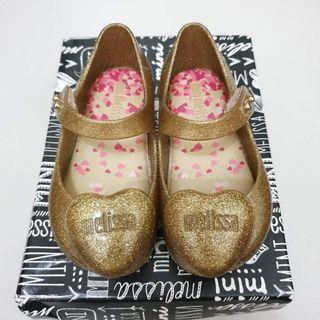 Mini Melissa Ultragirl Heart gold s6 Candy Pink Campana