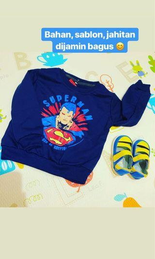 Sweater anak superman