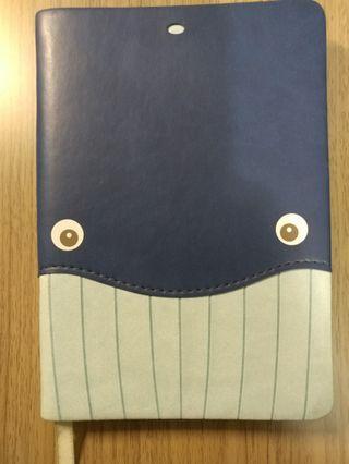 Daycraft筆記簿(鯨魚款)