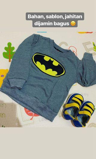 Sweater anak batman