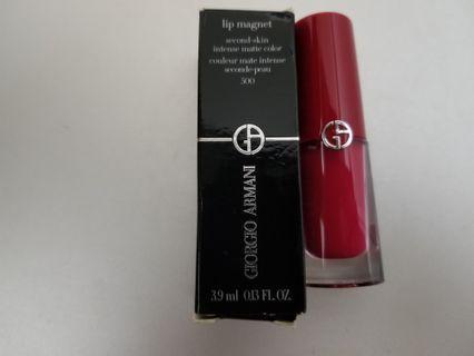 Giorgio Armani Lip Magnet #500 全新 原價310 現售150