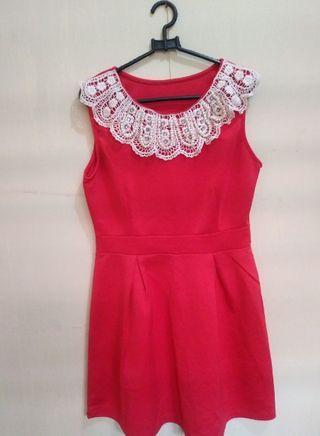 Import Red Dress #maudandan